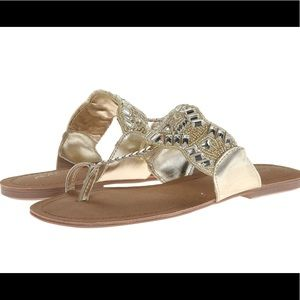 Kenneth Cole Reaction Jaded Coin 2 Sandals